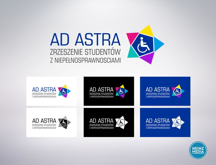 "New logotype for Aassociation of Students with Disabilities ""Ad Astra"""