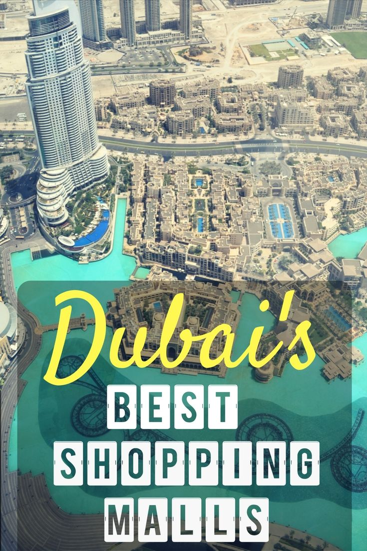 Dubai's Best Shopping Malls - Insider Guide! Information about Dubai Mall, Mall of the Emirates, Ibn Battuta Mall, Mercato, Burjuman, Dubai Festival City!