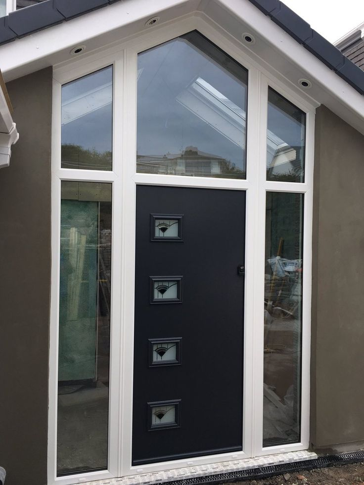 We don't know what is more stunning... Our homeowners glass arch way or their new Endurance composite door! Find your nearest installer & get a quote now: http://endurancedoors.co.uk/authorised-retailers/