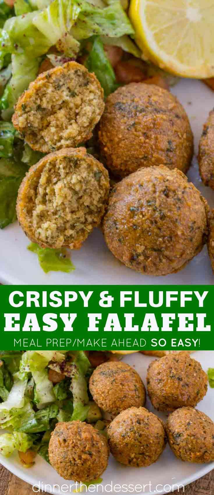 Classic Falafel Made With Dried Chickpeas And Tahini This Traditional Falafel Is Exactly What You D Have At Your Favo Comida Comida Deliciosa Comidas Exoticas