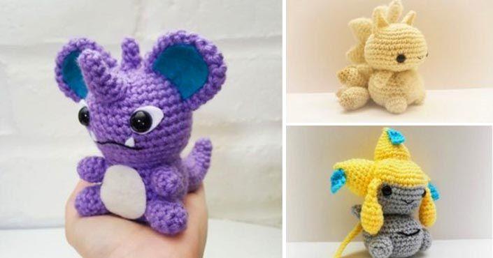 Mánia menom Pokémoni dorazila aj do handmade kruhov! Šikovné ručičky si ich jednoducho uháčkovali!