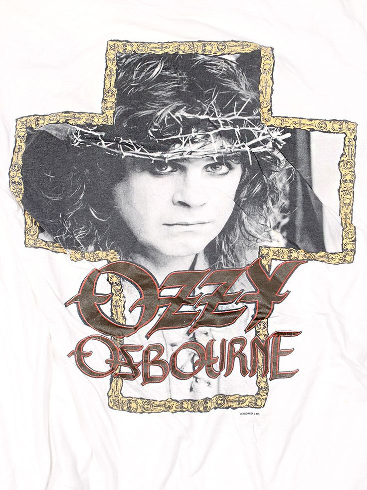 Ozzy Osbourne  No Rest For The Wicked Tour Vintage T-Shirt 1988-1989///SOLD///