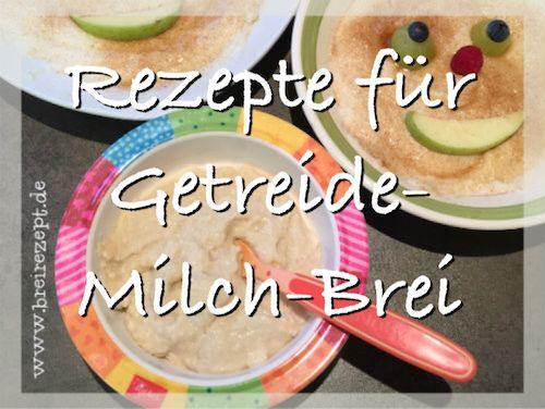 Getreide-Milch-Brei