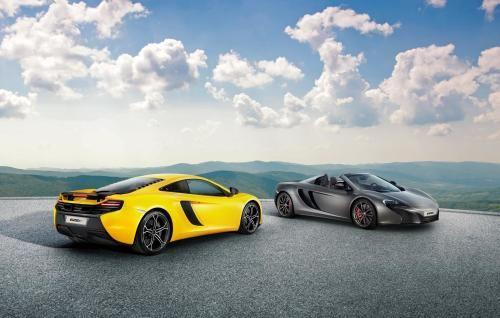 McLaren 625C Coupe & Spider Desktop Wallpaper