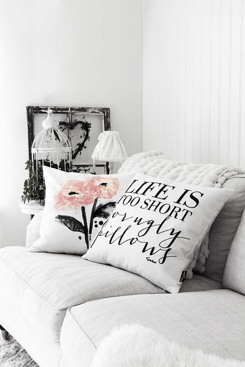 Imagem de white, decor, and pillow