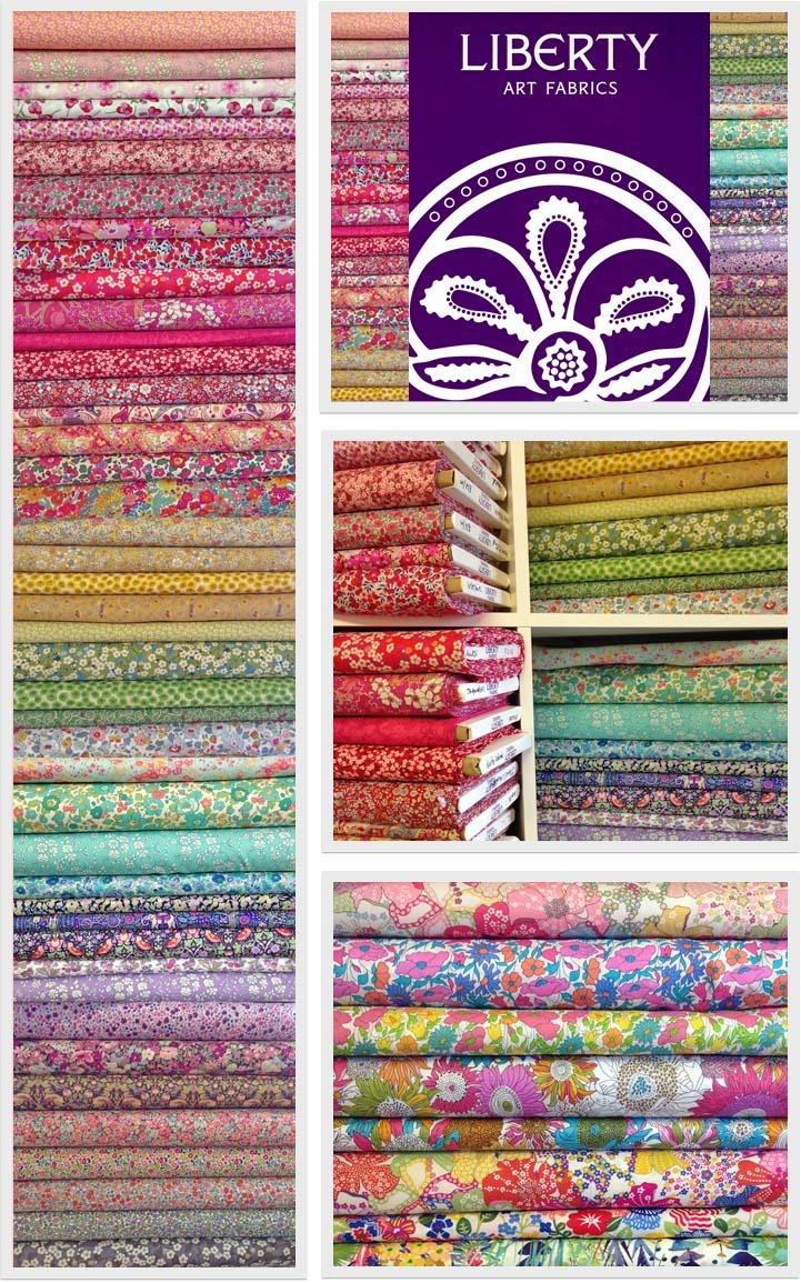 Liberty Art Fabrics at Alice Caroline