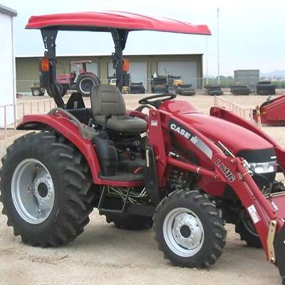"(52"" x 66"") Fiberglass  Tractor  Canopy Kit - Red"