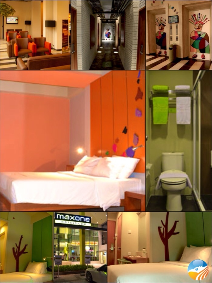 Colorful hotel MaxOne, Jakarta, Indonesia, ⭐⭐ Hotel.