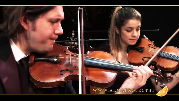 "ALMA PROJECT - DDL String Quartet & Piano - ""Triste"" (A.C.Jobim)"