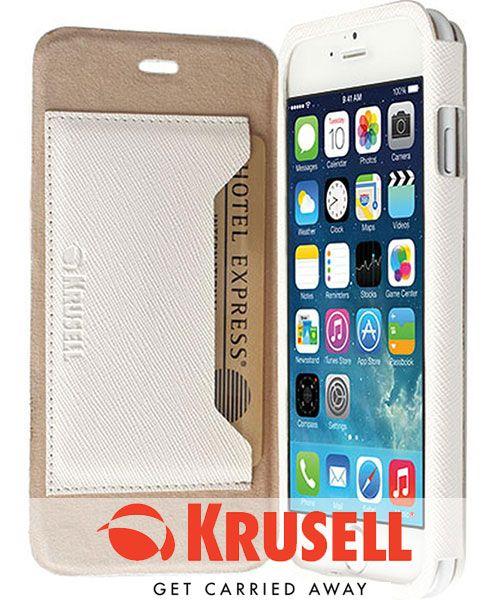 Krusell Malmö Flip Case Apple iPhone 6 Wit