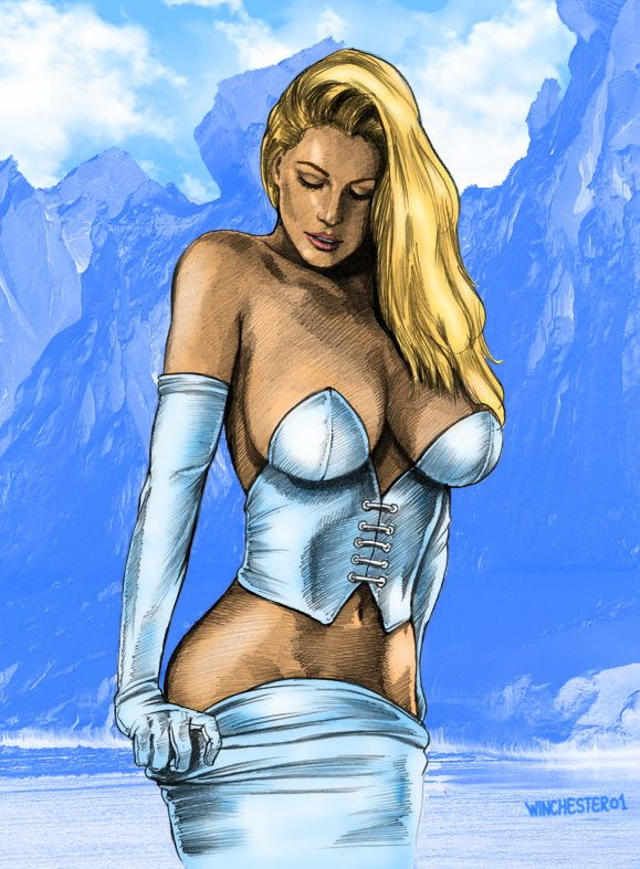 comics girls emma frost - photo #36