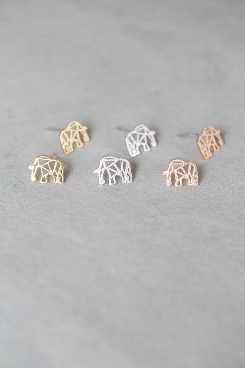 Lovoda - Elephant Earrings, $12.95 (http://www.lovoda.com/elephant-earrings/)