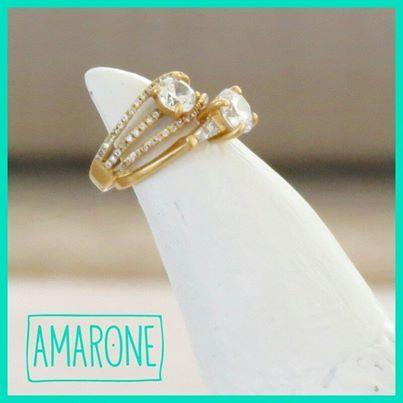 Los anillos son el tipo de accesorios que resaltan siempre tu estilo, nuestros anillos #Amarone los puedes usar para cualquier ocasión son diseños creados para ti.