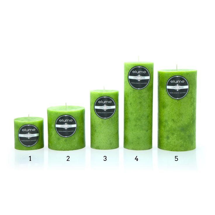 """Elume - Lemongrass 3"""" x 3"""" (#1)"""