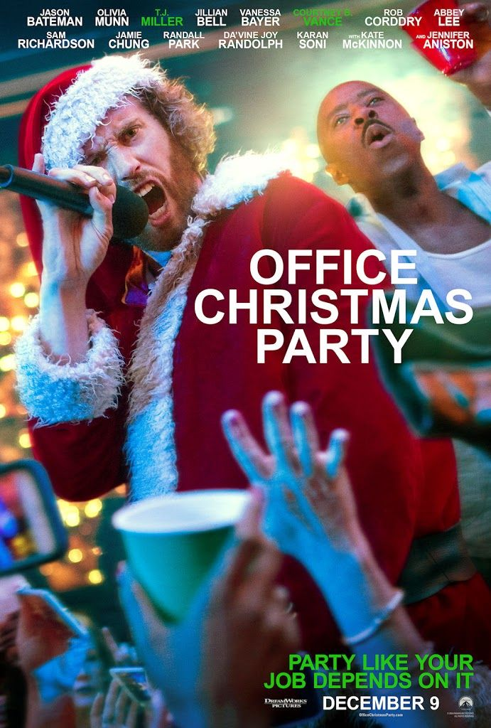 OFFICE CHRISTMAS PARTY movie poster No.2