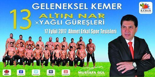 Heute haben Sie die Gelegenheit traditionelle türkische Ölringkämpfe zu besuchen: 9:00 - 19:00 Uhr Ahmet Erkal Tesisler (Nähe Meder Hotel) Today you have the opportunity to visit traditional Turkish oil wrestling: 9 am - 7 pm Ahmet Erkal Tesisler (near Meder Hotel)