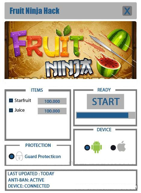 fruit ninja hack version apk