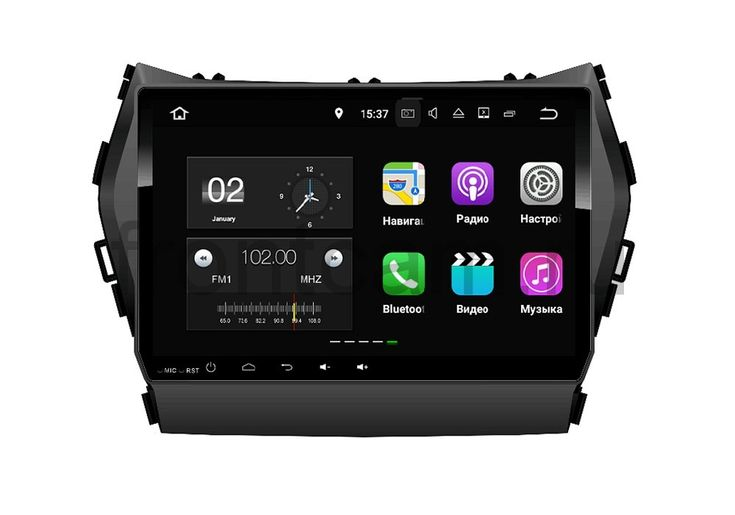 Штатная магнитола FarCar s130  для Hyundai Santa-Fe 2012 Big Screen на Android (W209)