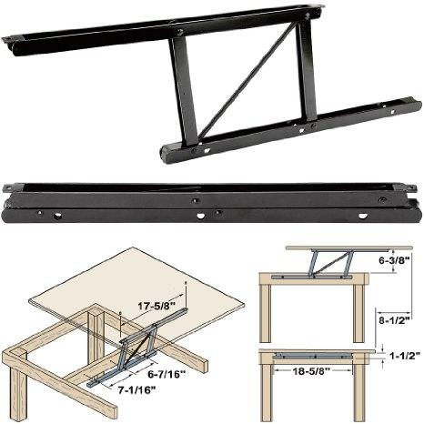 Woodtek 164228 Hardware Table Folding Table Hardware