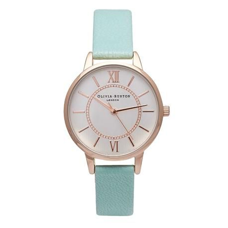 Reloj señora OLIVIA BURTON. Wonderaland. Menta