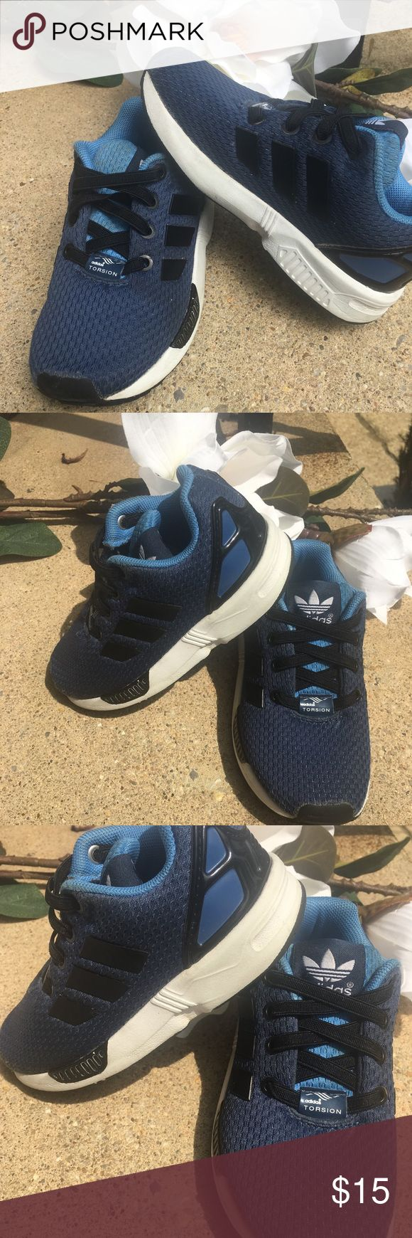 ⚜️Adidas Torsion ZX Flux Sneakers Size 8⚜️ Adidas Torsion ZX Flux No Tie Sneakers in 8c⚜️Multi dimensional colored fabric with no tie laces⚜️Good Condition⚜️Discoloration/Stain on tongue (see pics) adidas Shoes Sneakers