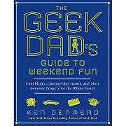 """Cute Gift: Geek Dad's Guide to Weekend Fun.. $18 """"cool hacks, cutting edge games and more awesome projects for the whole family"""": Dads Guide, Books, Guide To, Awesome Projects, Cuttingedg Games, Weekend Fun, Cut Edge Games, Geekdad, Geek Dads"""