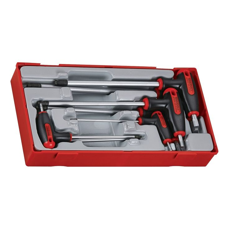 7 Piece T Handle Hex Key Set