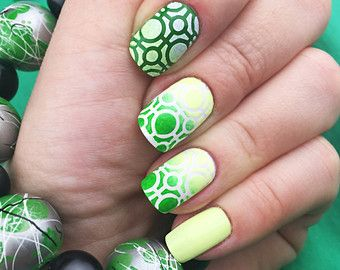 Sixty Nine modello Nail Art stencil incredibile chiodo di Unail