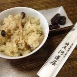 晦庵 河道屋 - 料理写真:季節のごはんもご一緒に!
