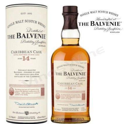Balvenie 14 Caribbean Cask Whisky de Malta