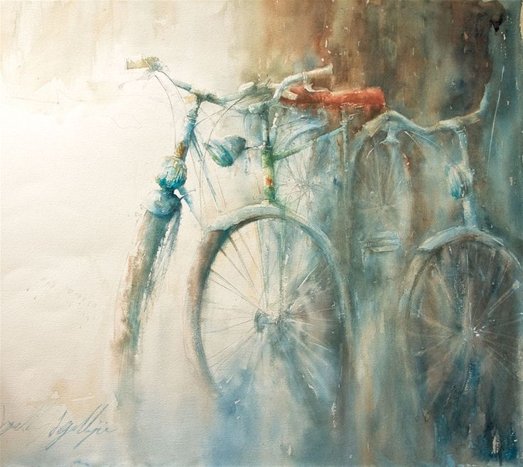 17 best images about bicycle art craft on pinterest for Bicycle painting near me