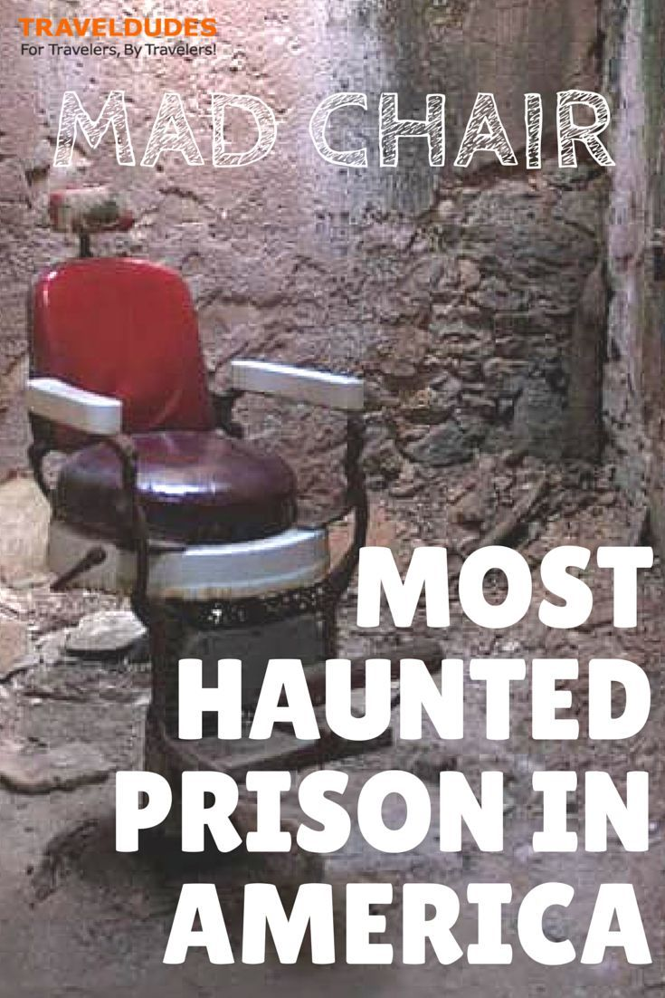 The Mad Chair: The Most Haunted Prison In America - Eastern State Penitentiary, or ESP, was once the most famous and expensive prison in the world, before it was shut down in 1971.:
