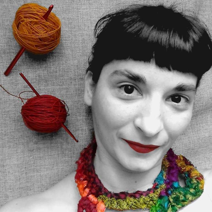 Yarn portrait