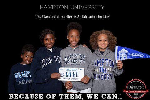 Hampton University – BECAUSE OF THEM, WE CAN