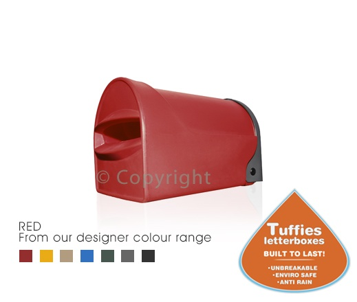 #Letterboxes with a lifetime guarantee! Takes up to A4 mail. A unique guttering system helps keep mail dry.  Unbreakable! Doesn't rust, rot, crack or fade. Lockable. Your #home and #family will thank you for purchasing a Tuffies Letterbox! They are environmentally friendly as well! Click the picture above to buy online now!