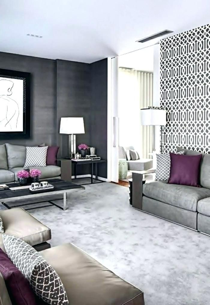 Accent Wall Ideas Whether You Want To Spray A Wall Surface With A Br Wallpaper Living Room Accent Wall Accent Walls In Living Room Grey Wallpaper Living Room