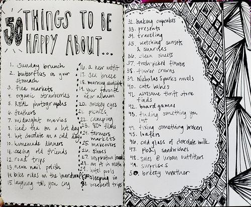 Opschrijven wat je blij maakt en waar je dankbaar voor bent, maakt je dankbaarder en blijer!