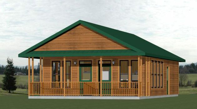 24x30 house 20x32h3 720 sq ft dream home for 24x30 cabin