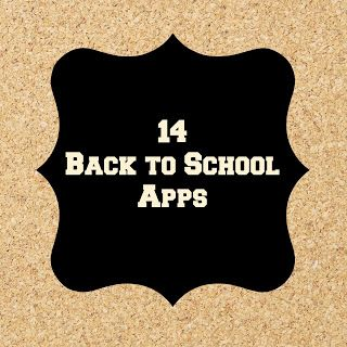 Back to School Apps  - Pinned by @PediaStaff – Please Visit ht.ly/63sNtfor all our pediatric therapy pins