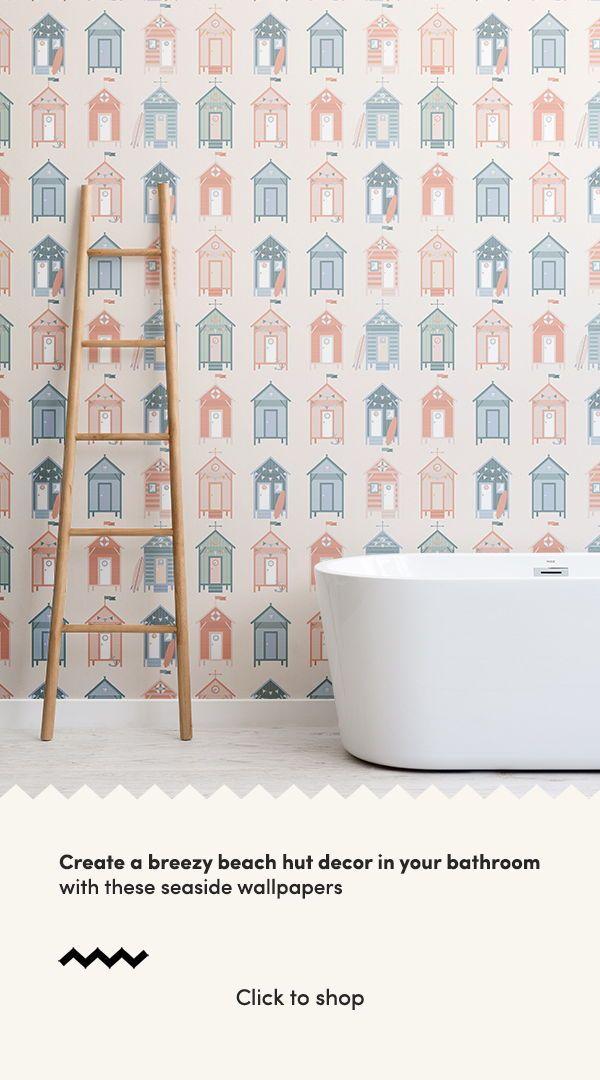 30 Beautiful Beachy Baths With Images Beach House Bathroom