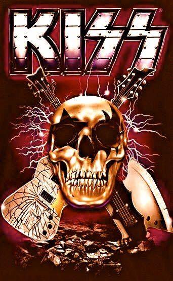 Чаще всего группу Kiss относят к таким жанрам рок-музыки, как хард-рок и глэм-рок. Но вскоре после формирования группы, критики назвали их «thunderrockers» (с англ.—«громорокеры»). Они также экспериментировали с такими стилями, как диско (Dynasty), поп-рок (Unmasked), арт-рок / прогрессивный рок (Music From «The Elder») и гранж (Carnival of Souls: The Final Sessions).