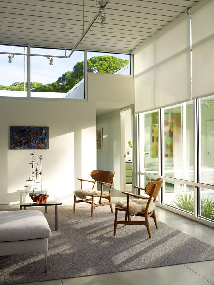 Contemporary Windows 156 best contemporary window treatments, sun control and shading