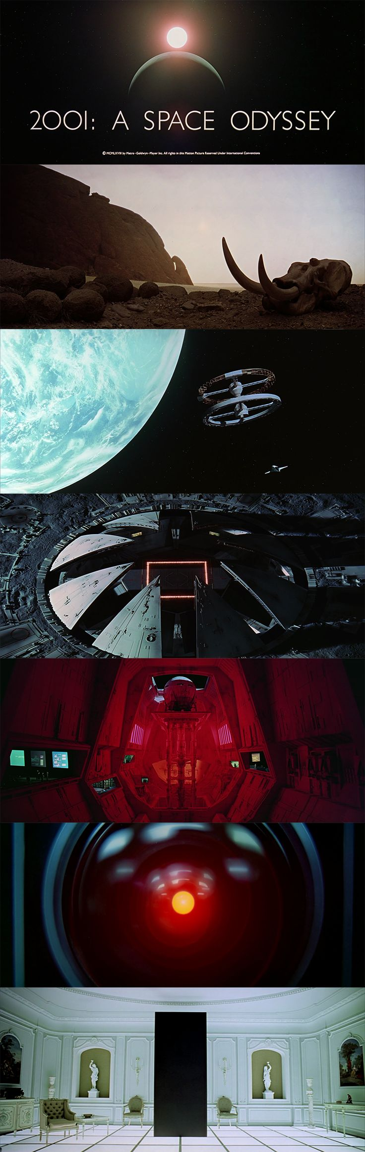 "I just can't talk about cinematography without mentioning the near-flawless movie ""2001: A Space Odyssey."""