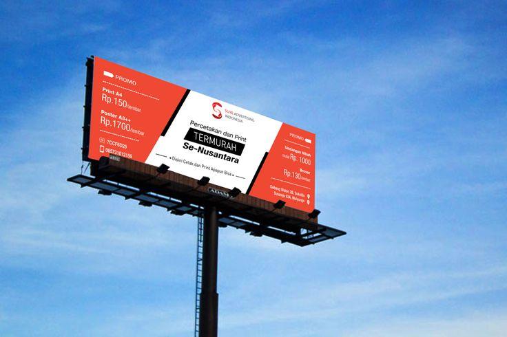 Design Mockup Baliho/Banner Outdoor  Suya Advertising..