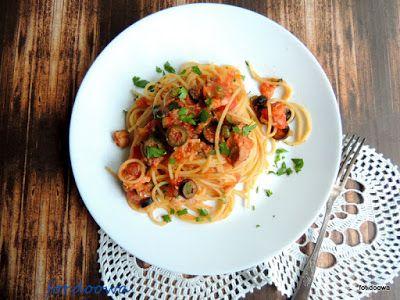 Moje Małe Czarowanie: Spaghetti siciliana czyli alla Norma