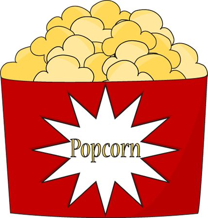 Image result for clipart popcorn