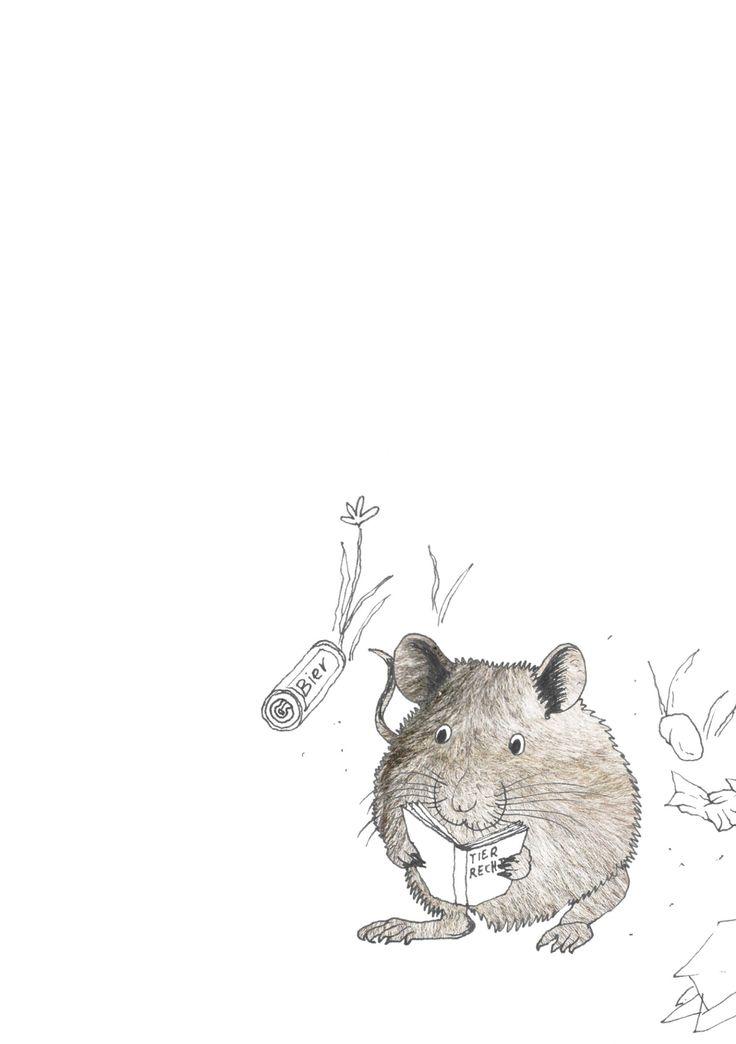 """rat, reading the animal rights"", Stanislaus Medan, 2014 #animals #park #grafic #children #drawing #collage #fotocollage #rat #animalrights"