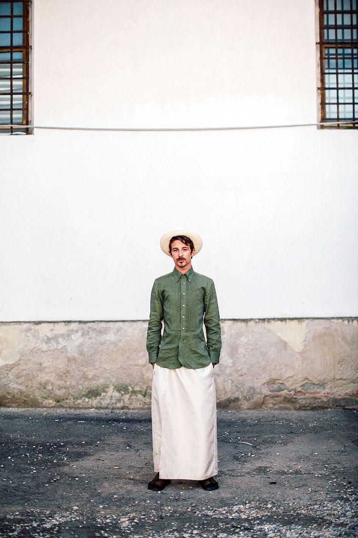 Garconjon: Eastern Influence: Pitti Uomo, Florence