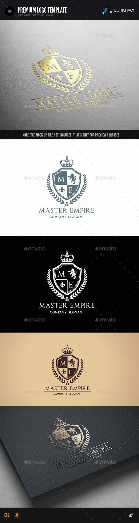 Master Empire Logo Template #design #logotype Download: http://graphicriver.net/item/master-empire-/12043077?ref=ksioks
