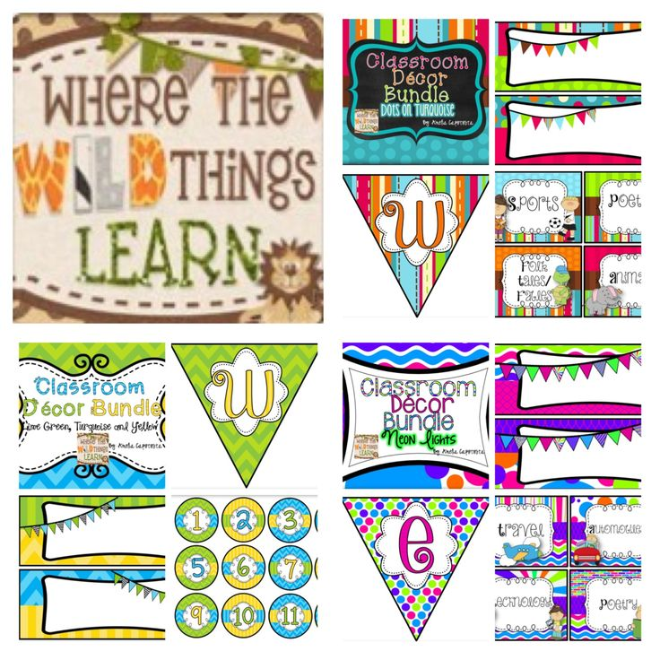 Classroom Decor Packs : Best images about classroom what will you